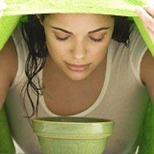 Паровые ванны для лица и отвары